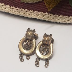 Unique vintage earrings